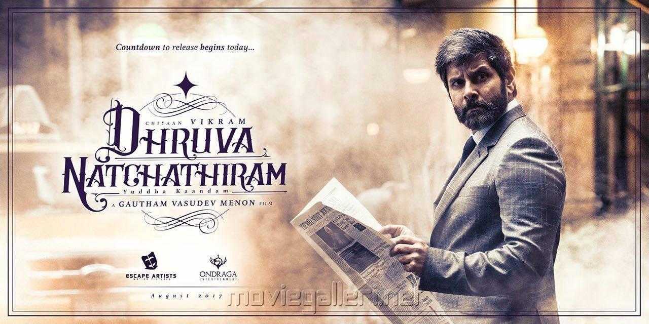 Dhruva Natchathiram Vikram First Look Posters