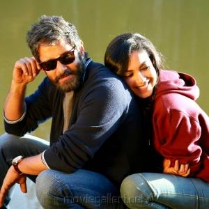 Chiyaan Vikram Ritu Varma Dhruva Natchathiram Movie New Images