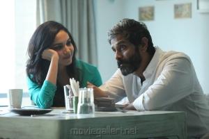 Ritu Varma Vikram Dhruva Natchathiram Movie New Images