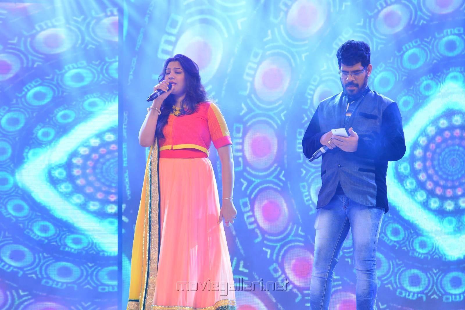 Singer Geetha Madhuri, Simha @ Dictator Movie Audio Launch Photos