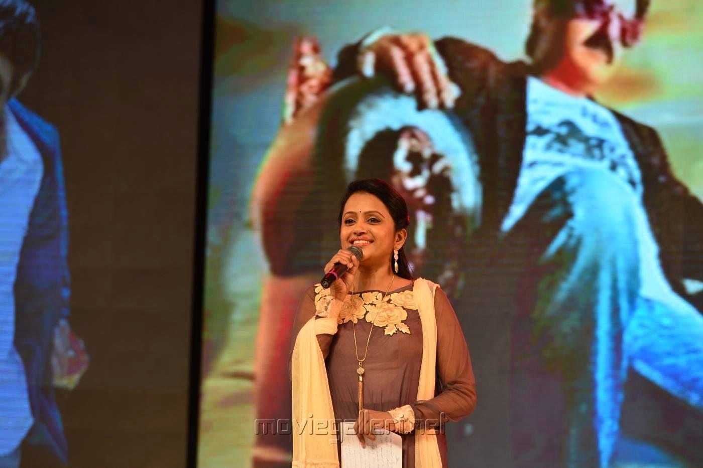 Anchor Suma @ Dictator Movie Audio Release Stills