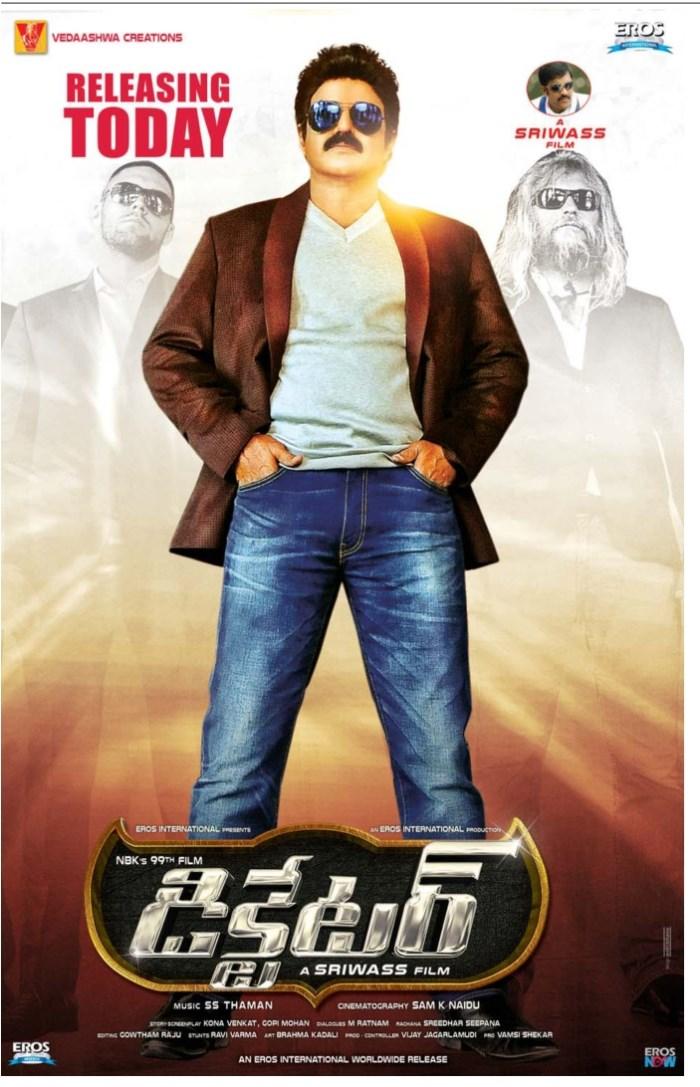 Nandamuri Balakrishna in Dictator Movie Release Posters