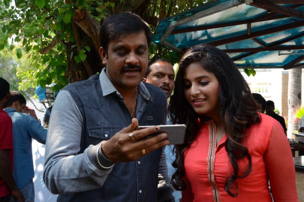 Sriwass, Anjali @ Dictator Movie Teaser Launch Stills