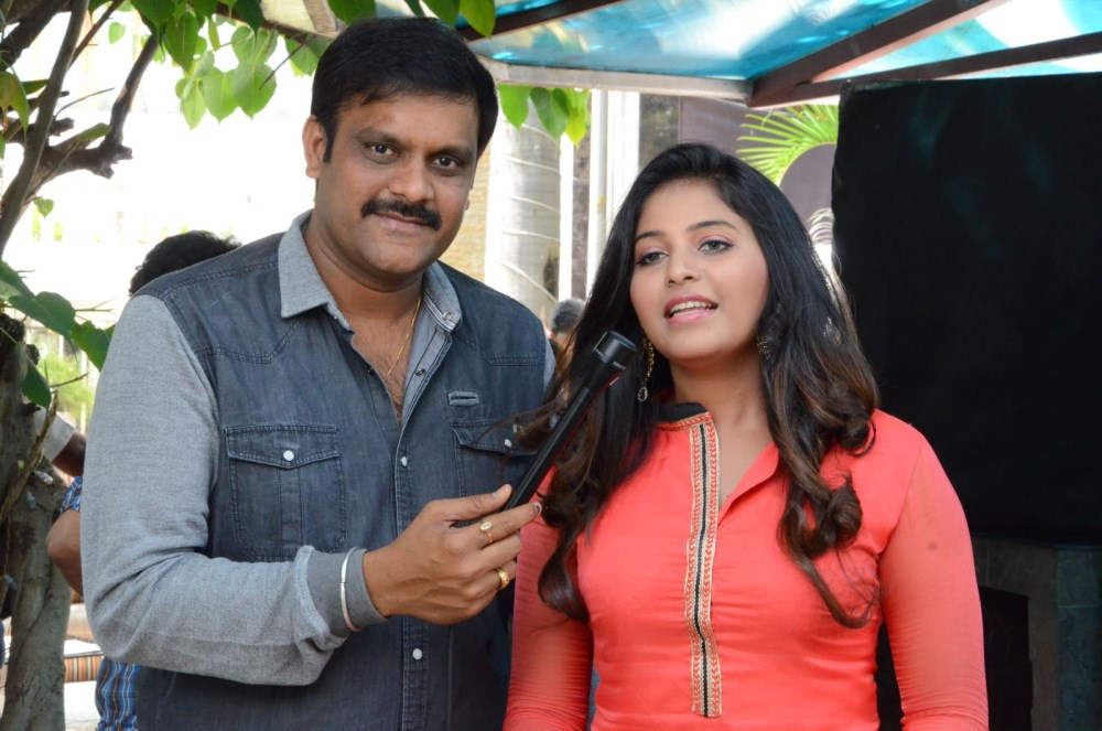 Sriwass, Anjali @ Dictator Movie Teaser Launch Stills