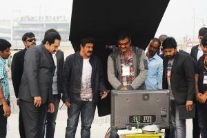 Suman, Sriwass, Balakrishna @ Dictator Movie Working Stills