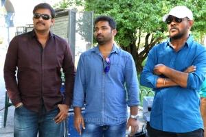 Sriwass, Paulraj, Shyam K Naidu @ Dictator Movie Working Stills