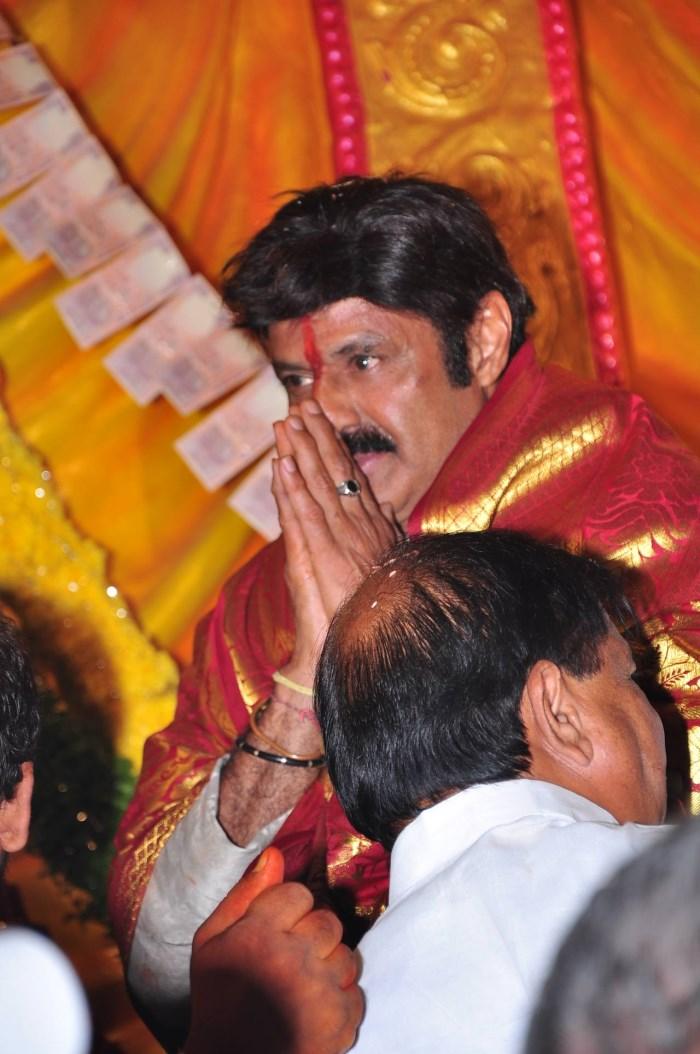 Balakrishna @ Dictator Song Launch @ Khairatabad Ganesh