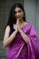 Actress Digangana Suryavanshi Latest Saree Stills @ Suji Visuals Prod No 1 Movie Opening