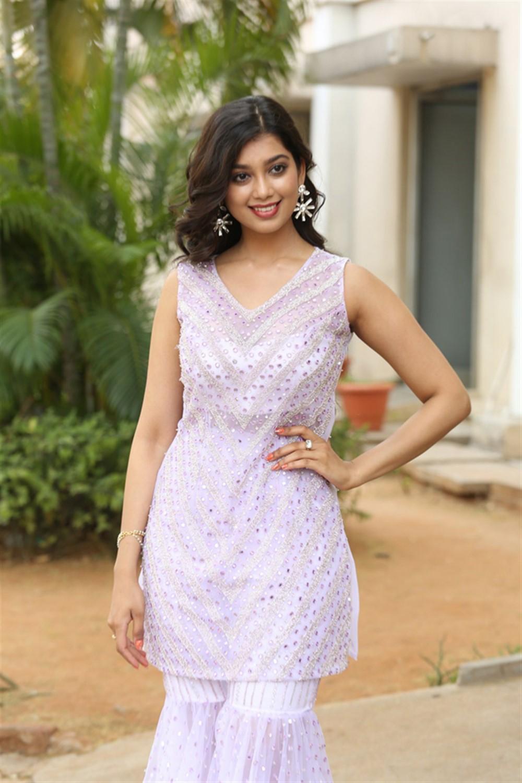 Actress Digangana Suryavanshi Photos @ Hippi Movie Press Meet
