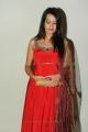 Telugu Heroine Diksha Panth in Red Salwar Kameez