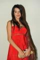 Telugu Actress Diksha Panth in Red Salwar Kameez
