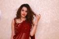 Operation 2019 Movie Heroine Diksha Panth Red Saree Photos