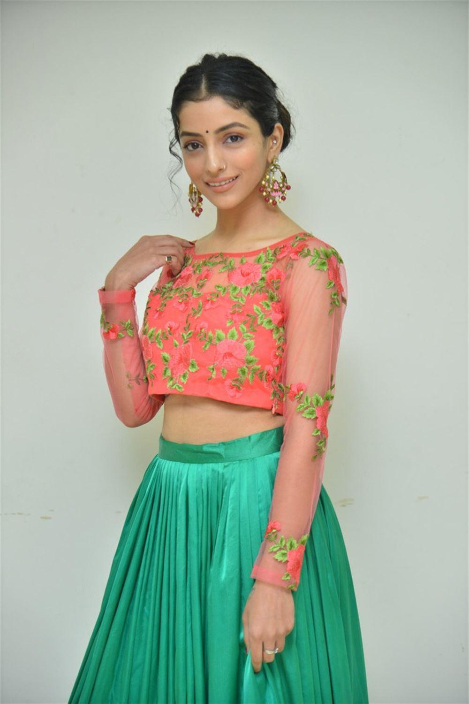 Heroine Diksha Sharma Raina Pics @ Shubhalekha+Lu Movie Pre Release