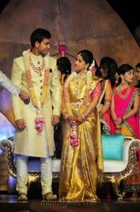 Celebs @ Dil Raju Daughter Hanshitha Engagement Photos