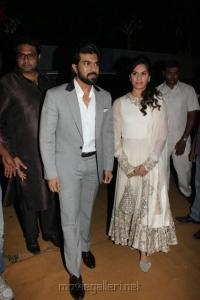 Ram Charan Teja & Upasana Kamineni @ Dil Raju Daughter Hanshitha Engagement Photos