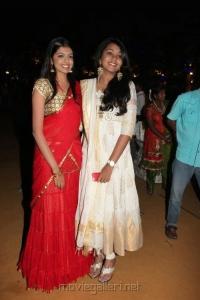 Rajasekhar Daughters @ Dil Raju Daughter Hanshitha Engagement Photos