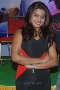 Telugu Actress Dimple Chopade Stills at Romance Movie Teaser Launch