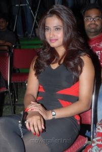 Telugu Actress Dimple Chopade Stills at Romance Teaser Launch