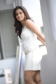 Dimple Chopade Hot Pictures in Tight Short White Skirt Dress