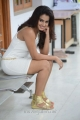Dimple ChopdaHot Pictures in Tight Short White Skirt Dress