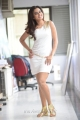 Tamil Actress Dimple Chopade Hot Pictures in White Tight Skirt