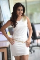 Actress Dimple Chopda in Tight White Skirt Hot Pictures
