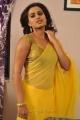 Actress Dimple Chopade Hot in Yellow Transparent Saree Stills