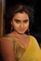 Actress Dimple Chopda in Yellow Chiffon Saree Stills