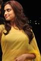 Actress Dimple Chopade in Yellow Chiffon Saree Stills
