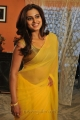 Actress Dimple Chopade Hot Yellow Transparent Saree Stills