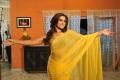 Romance Heroine Dimple Chopade in Yellow Saree Hot Stills