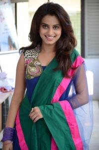 Actress Dimple Chopade in Blue Salwar Kameez Photos