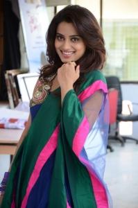 Actress Dimple Chopda Hot Photos in Blue Salwar Kameez