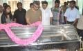 Shalini, Ajith Respects to Dinathanthi owner Sivanthi Adithan Photos