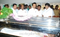 MK Stalin Pay last Respects to Dinathanthi owner Sivanthi Adithan Photos
