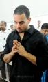 Actor Bharath Respects to Dinathanthi owner Sivanthi Adithan Photos