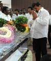 Vasanthakumar, Vivek Respects to Dinathanthi owner Sivanthi Adithan Photos