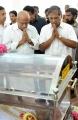 G Ramakrishnan Respects to Dinathanthi owner Sivanthi Adithan Photos