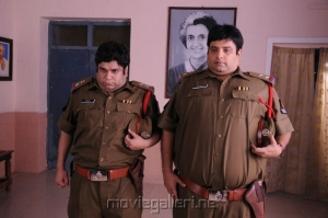 Sumit Arora & Krishnudu @ Ding Dong Bell Movie Stills