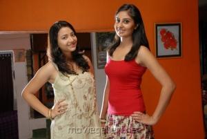 Swetha Prasad Bhanu Sri Mehra in Ding Dong Bell Movie Stills