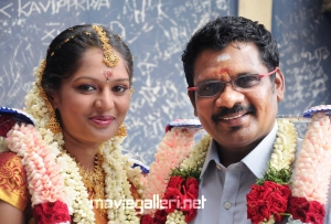 Director Kathir Shanthini Devi Marriage Photos
