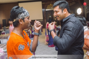 Jagan, Jayam Ravi @ Director KS Ravikumar daughter Maalica after Marriage Party Photos
