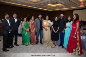 Aarthi, Jayam Ravi @ Director KS Ravikumar daughter Maalica after Marriage Party Photos