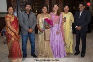 Hansika Motwani @ Director KS Ravikumar daughter Maalica after Marriage Party Photos