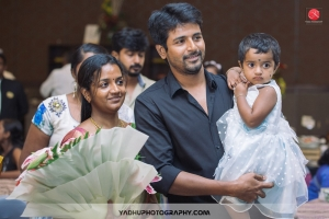 Sivakarthikeyan, Aarthi Doss @ Director KS Ravikumar daughter Maalica after Marriage Party Photos