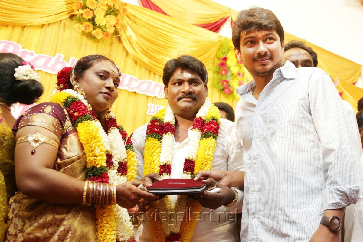 Udhayanidhi Stalin @ Director SR Prabhakaran Wedding Stills
