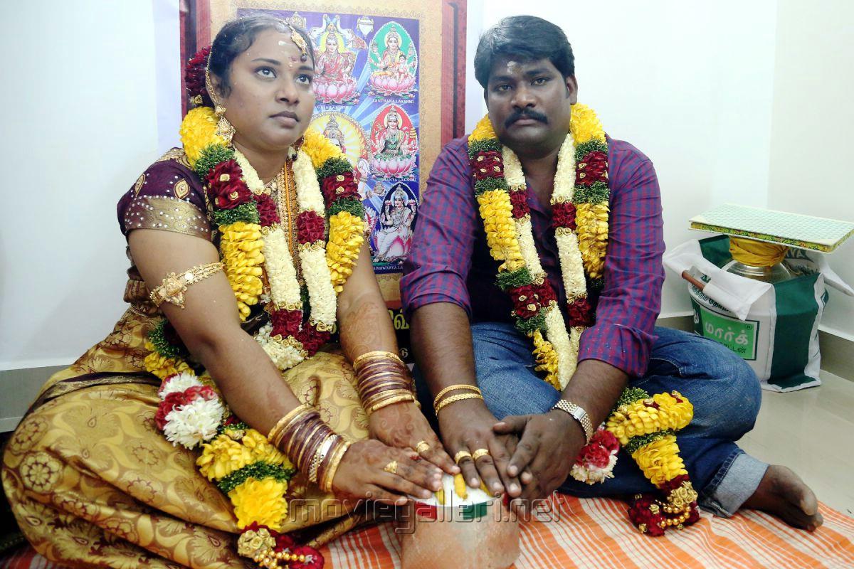 Director SR Prabhakaran Wedding Stills