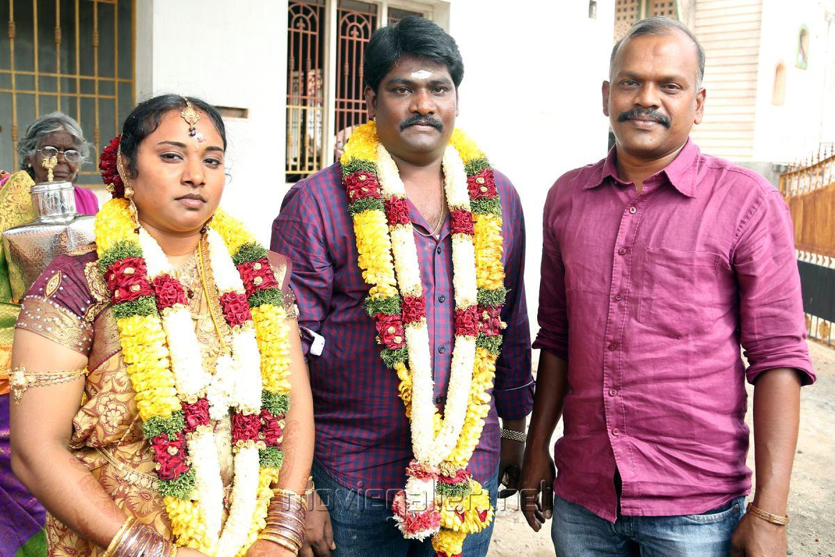Cinematographer Velraj @ SR Prabhakaran Wedding Stills