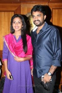 Actress Amala Paul and Director Vijay Press Meet Photos