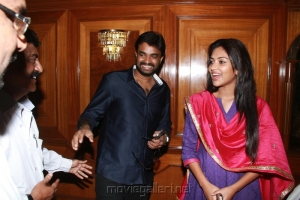 Director AL Vijay and Amala Paul Press Meet Photos